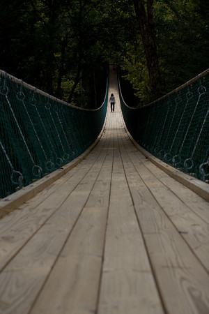 swinging bridge -Sevierville