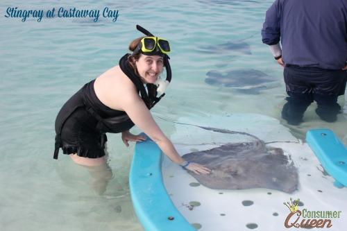 Stingray at Castaway Cay