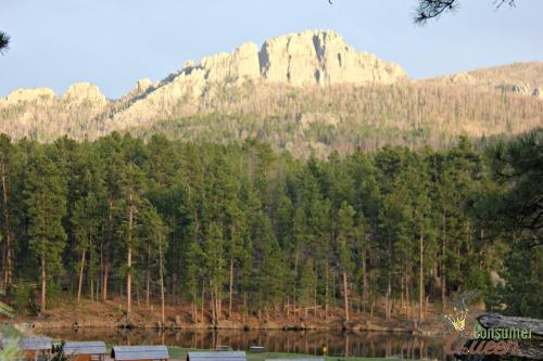 Mt Rusmore KOA Scenery