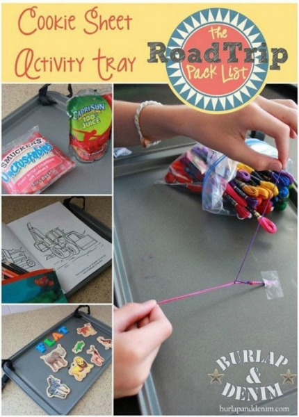 cookie sheet activity tray