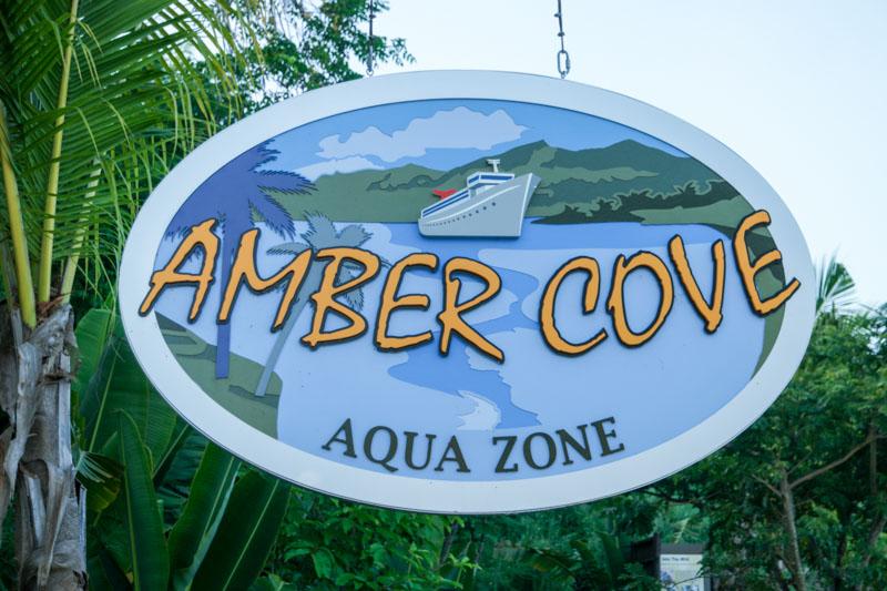 Amber Cove Sign