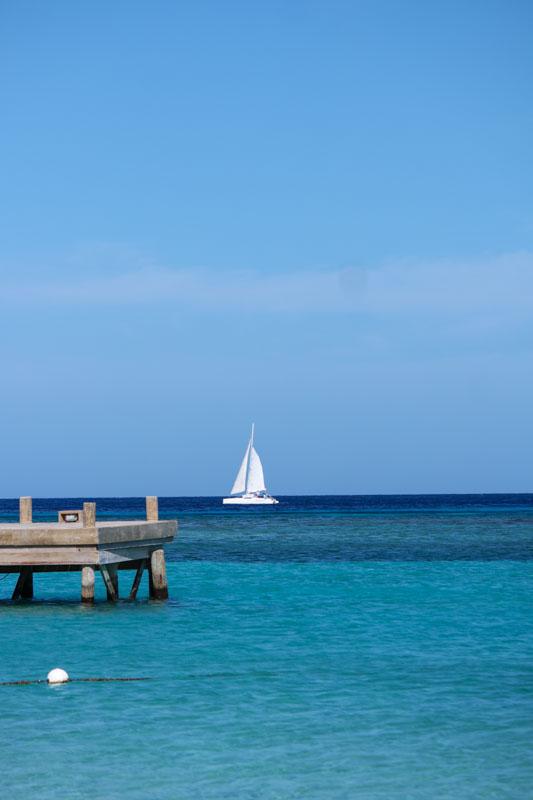 Roatan Island Sail Boat
