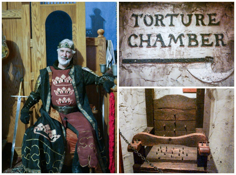 Medieval Times Torture Chamber