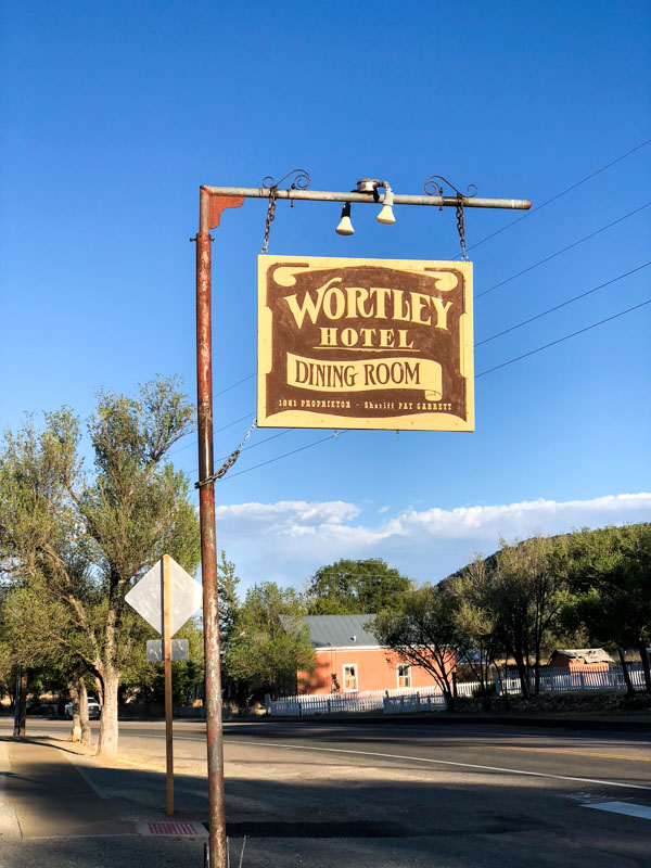 Wortley Hotel Welcome Lincoln New Mexico