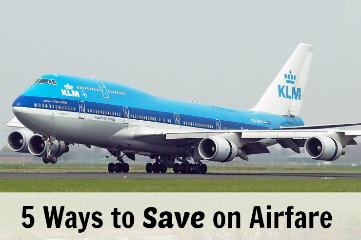 5 Ways to Save on Airfare