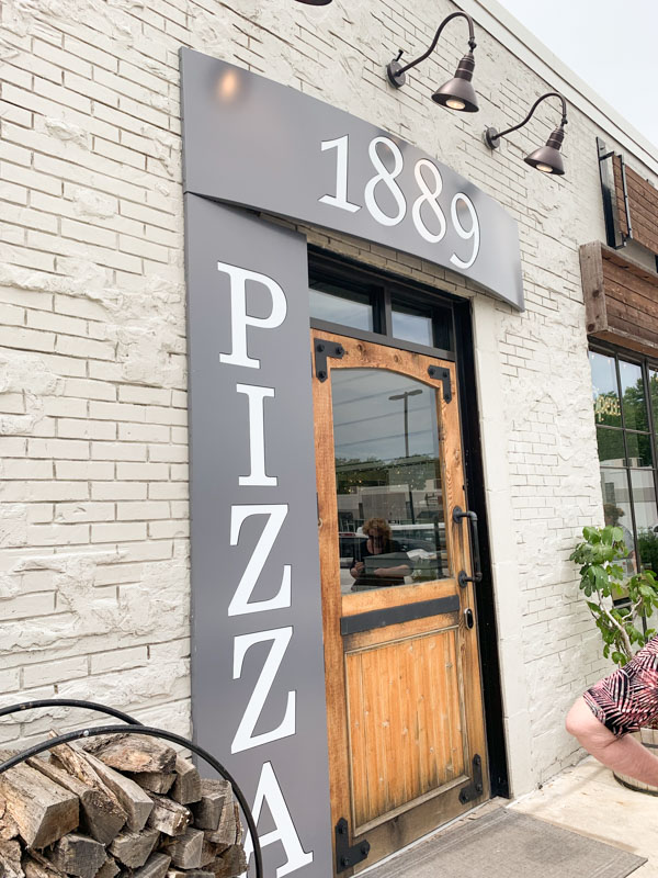 1889 Pizza Kansas city