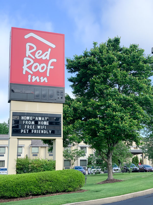 Red Roof Inn Tupelo ~ Dog Friendly Hotel