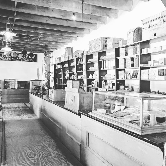 Tunstall Sweeny Store inside