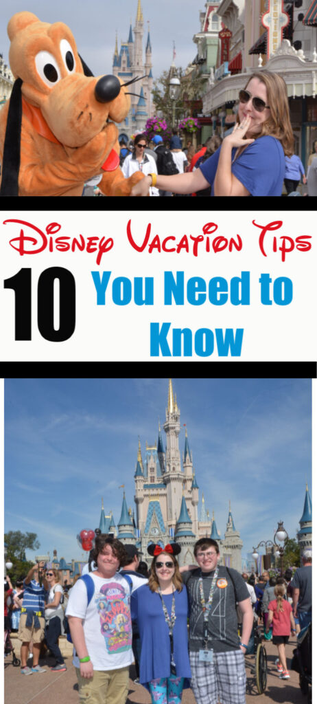 Disney Vacation Tips - Disney World Parks