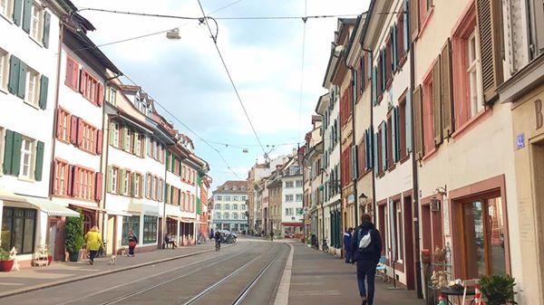 Touring Basel Switzerland