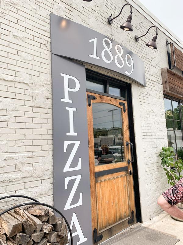 1889 Pizza Kansas city