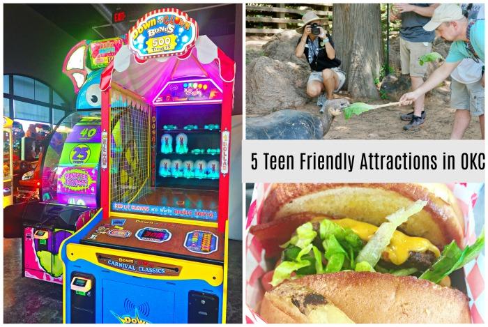 5 Teen Friendly Attractions in OKC