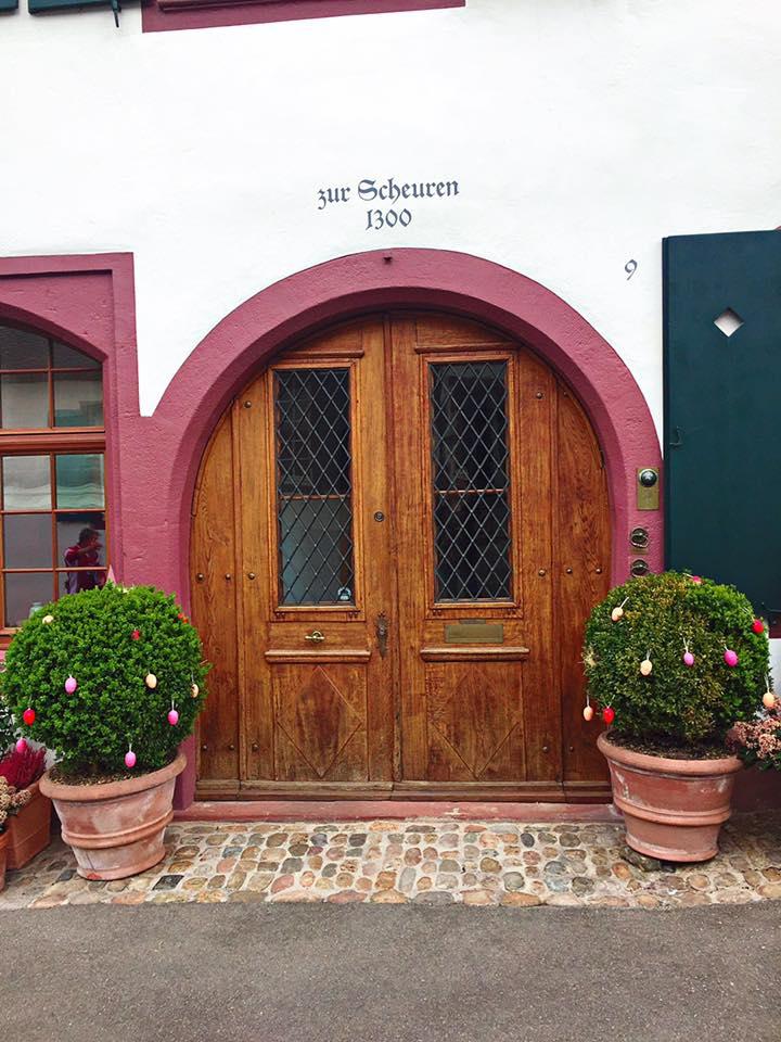 Basel doorways
