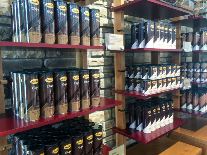 Bedre chocolate chips -Chickasaw National Recreation Area