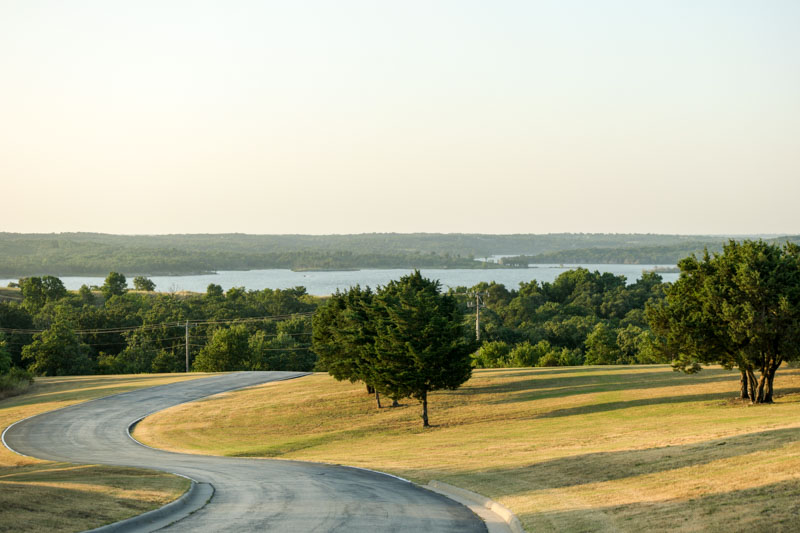 Chickasaw View  -Chickasaw National Recreation Area