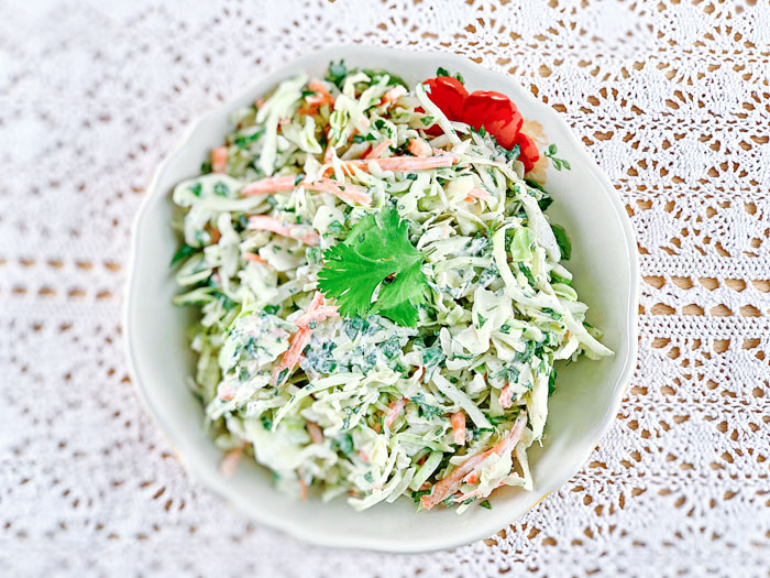 Easy Mexican Slaw