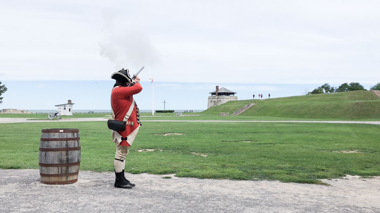 Old Fort Niagara Soldier