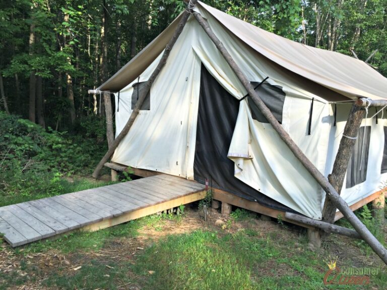Glamping with al fresco