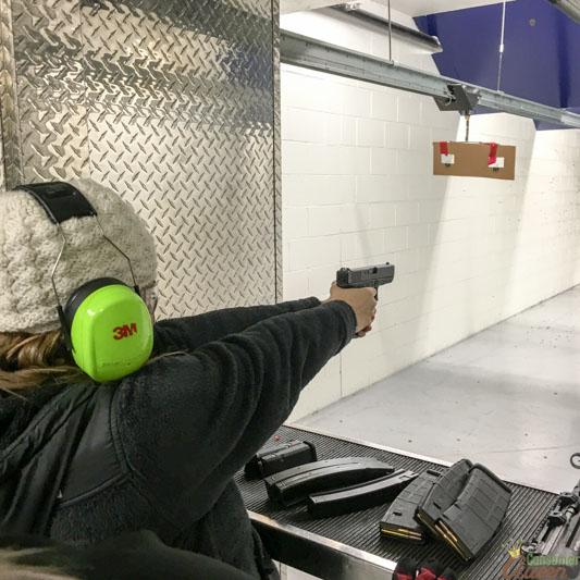 Glock 9MM Shot