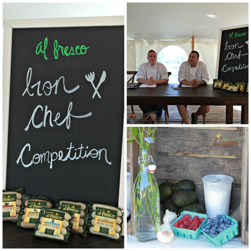 Iron Chef Competition Collage