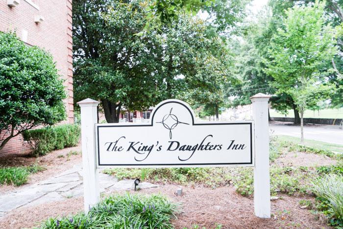Kings Daughters Inn sign (1 of 1)