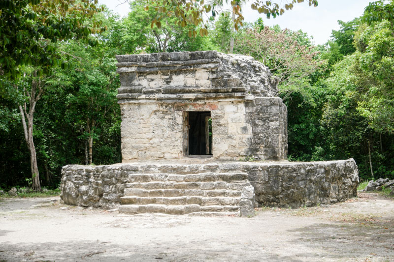 Mayan Ruins Cozumel - Western Caribbean