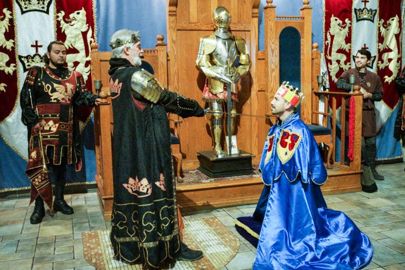 Medieval Times Knight Ceremony