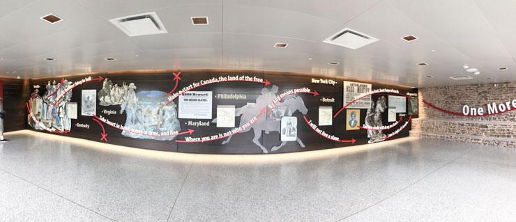 Niagara Falls Underground Railroad Inside