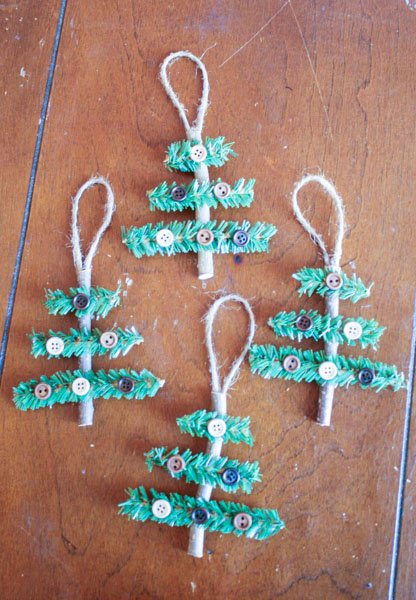 Rustic Christmas Tree Ornaments finished (1 of 1)