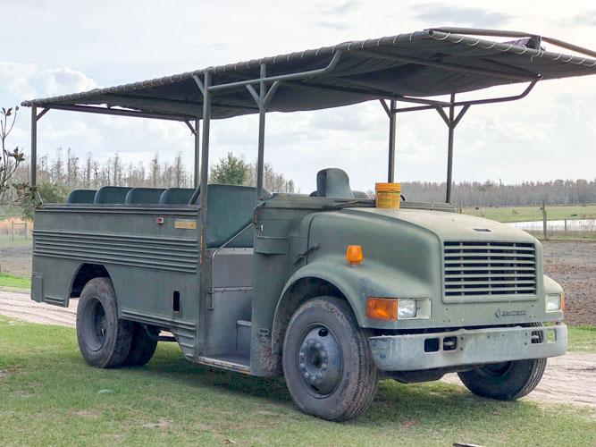 Safari Wilderness vehicle