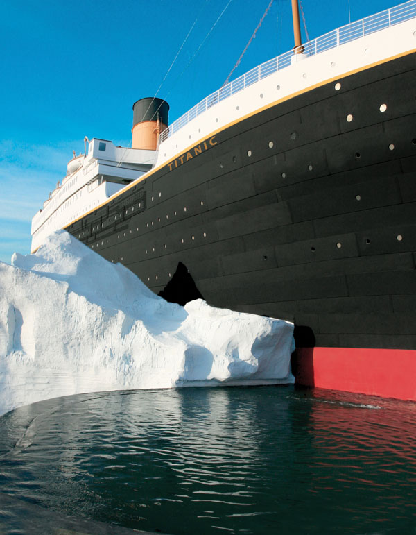 Titanic Museum Outside