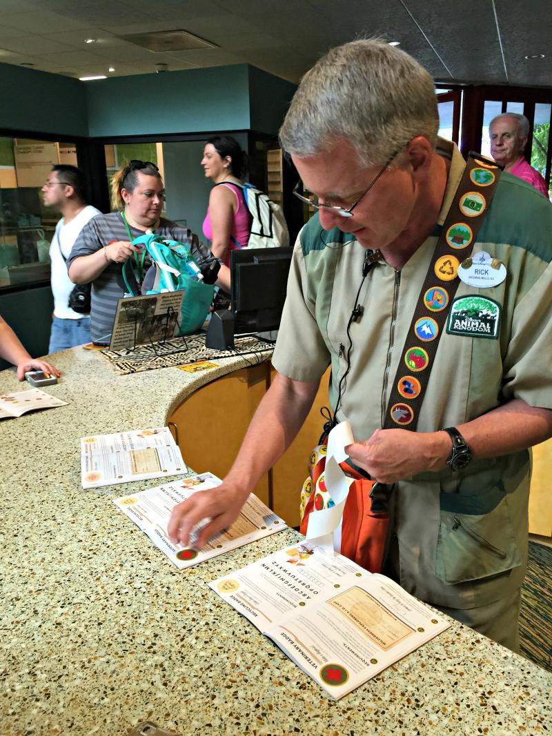 Wilderness Explorer Stickers