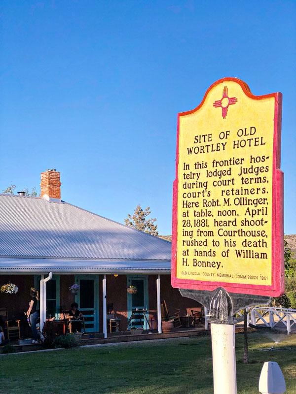 Wortley Hotel Sign