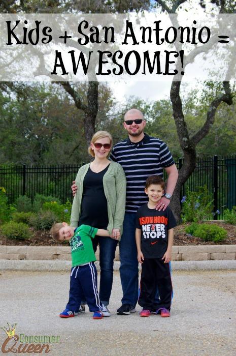 Kids + San Antonio = AWESOME!