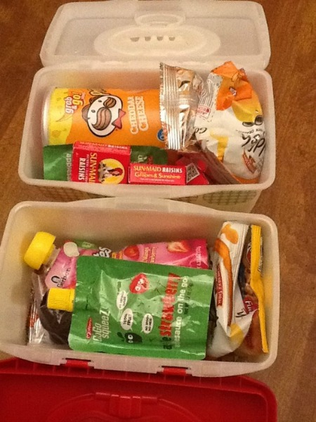 travel snack boxes