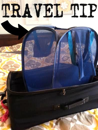 traveltip1 -Laundry travel bag