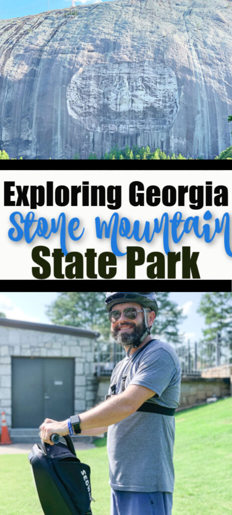 Exploring georgia stone mountain state park