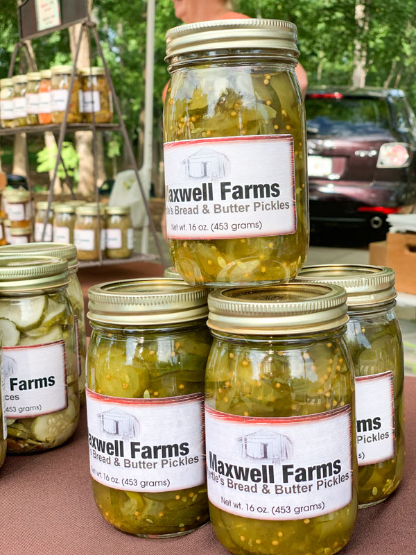 Maxwell farms Pickles