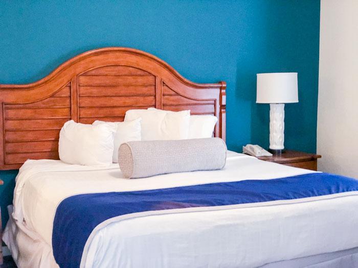 Lake Buena Vista Resort master bedroom