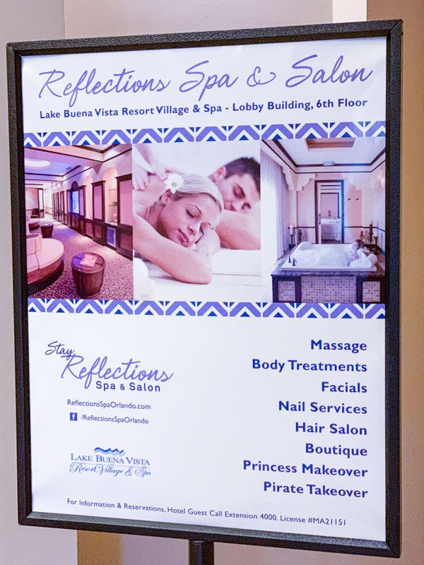 Lake Buena Vista Resort Reflections Spa