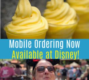 Mobile Ordering at Disney