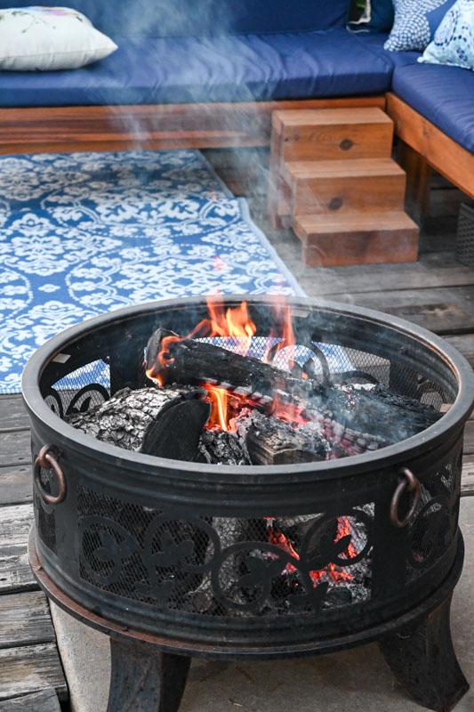 Campfire firepit
