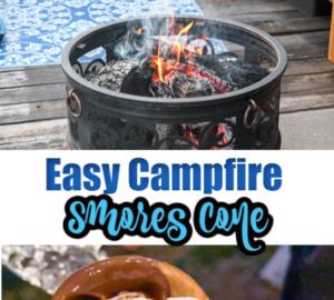 Campfire Smores Cone Pinterest