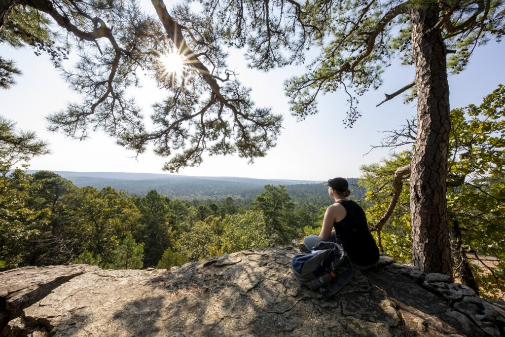 Robbers Cave -Camping In Oklahoma State Parks