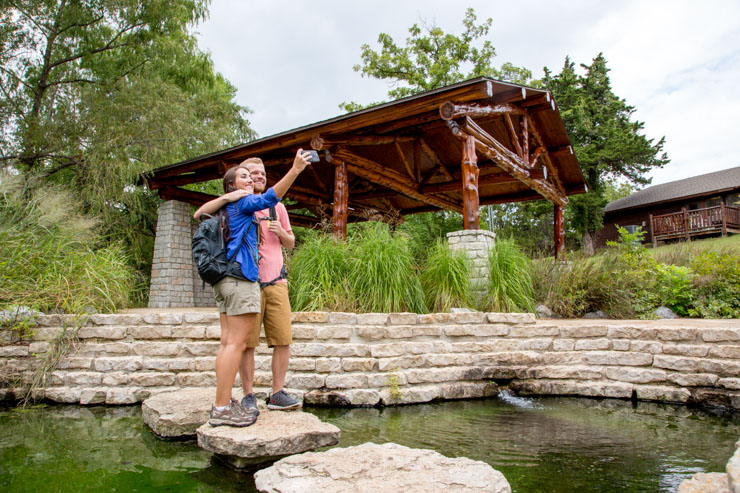 Boiling Springs -Camping In Oklahoma State Parks