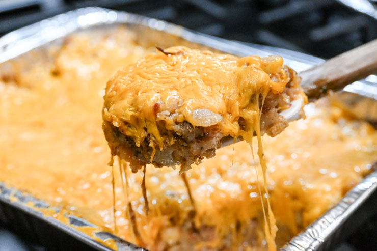 The Best Campfire Cheesy Potatoes