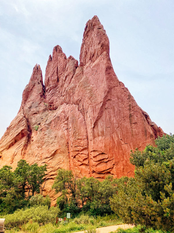 Garden of the Gods Large teepee rock