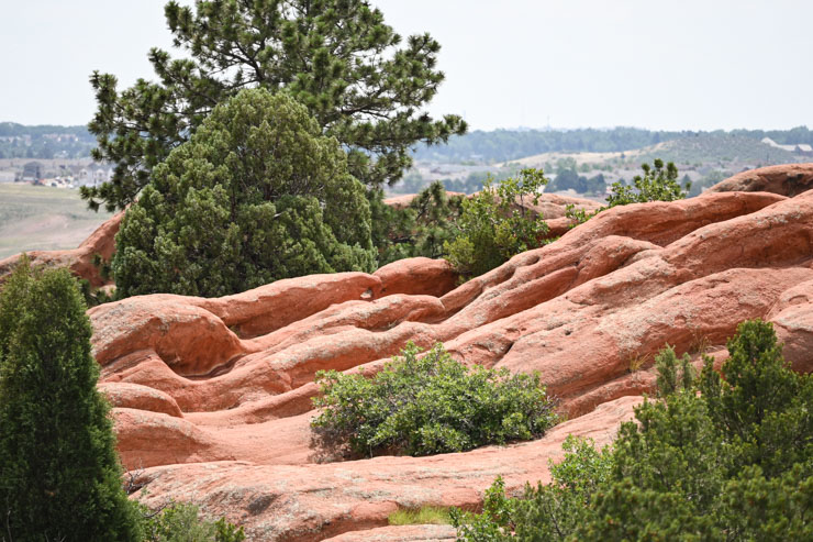 Hiking at Garden of Gods