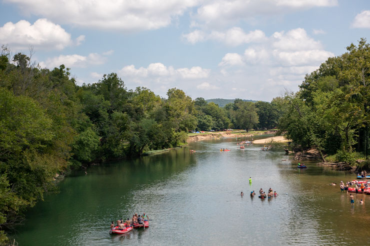 Illinois River -Camping In Oklahoma State Parks