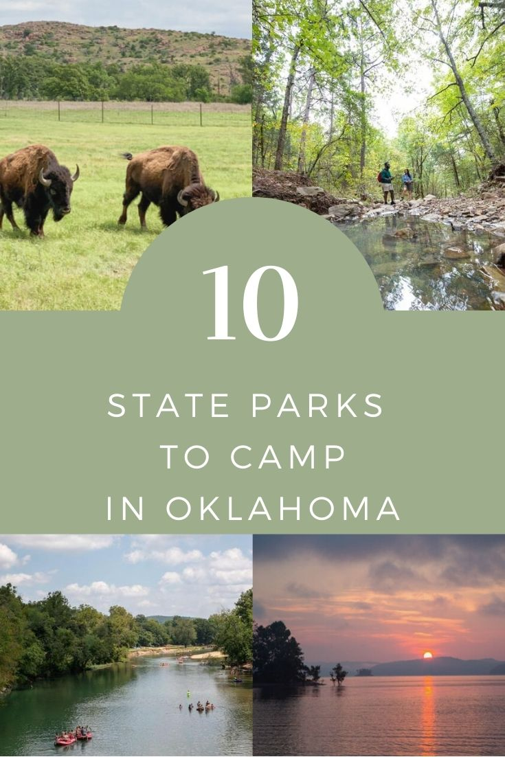 state parks to camp in oklahoma